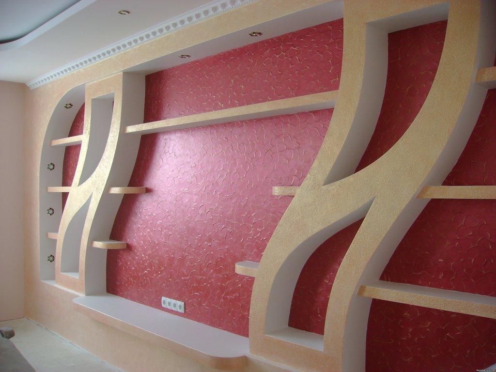 Гипсокартонные стены фото